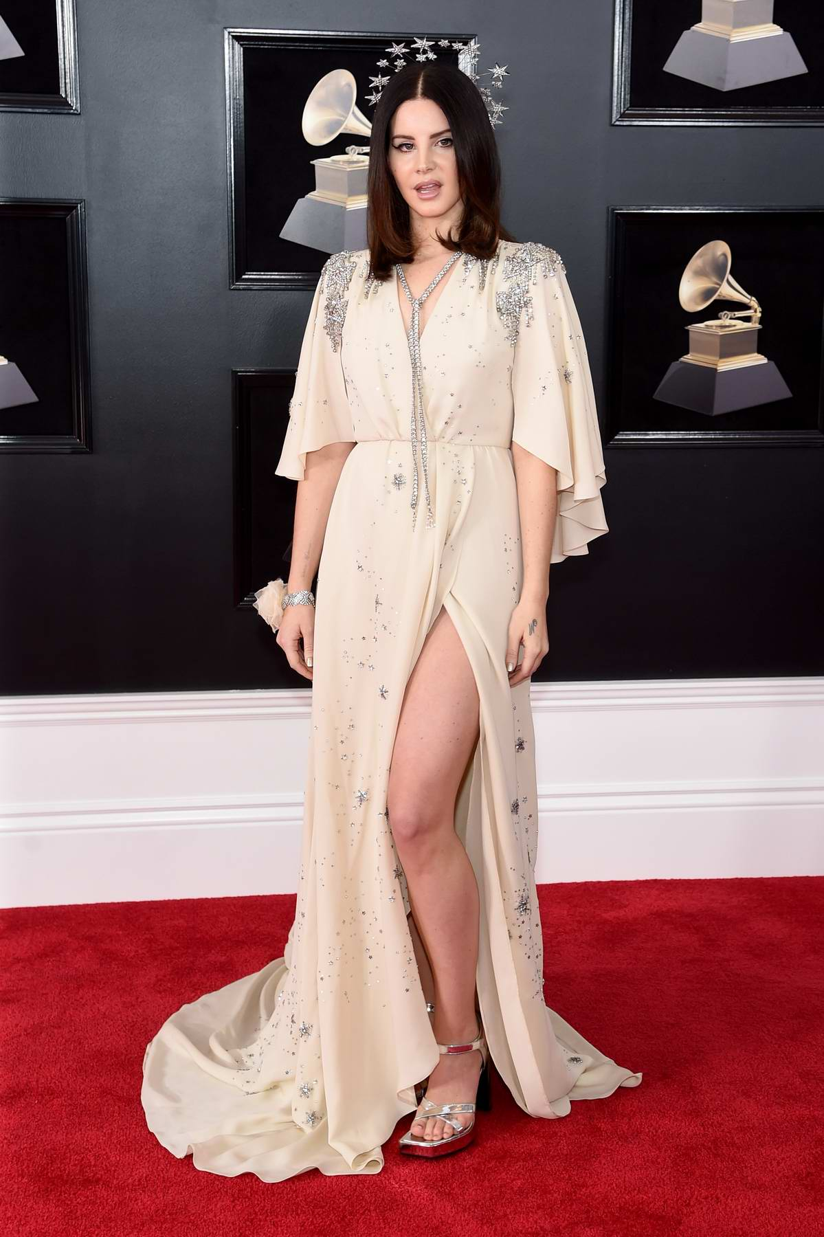 Lana Del Rey attends the 60th Annual Grammy Awards at Madison Square Garden in New York