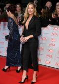 Laura Whitmore attends National Television Awards at The O2 Arena in London