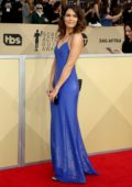 Mandy Moore attends the 24th Annual Screen Actors Guild (SAGs) Awards 2018 at The Shrine Auditorium in Los Angeles