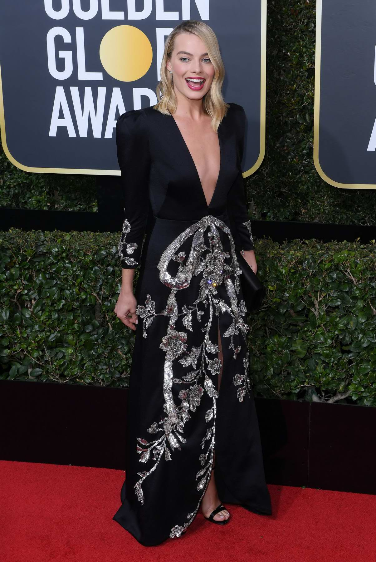 Margot Robbie attends the 75th Annual Golden Globe Awards in Beverly Hills, Los Angeles