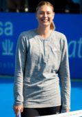 Maria Sharapova at 2018 Shenzen Open WTA International Open Kids Day, China