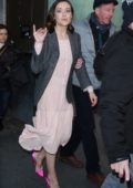Megan Boone seen leaving NBC's Today show in New York City