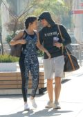 Michelle Keegan and Mark Wright heading to gym in Los Angeles