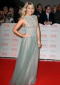 Mollie King attends National Television Awards at The O2 Arena in London