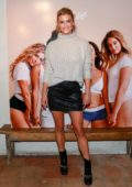 Nina Agdal attends AerieREAL Role Models Dinner Party in New York