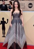 Odeya Rush attends the 24th Annual Screen Actors Guild (SAGs) Awards 2018 at The Shrine Auditorium in Los Angeles