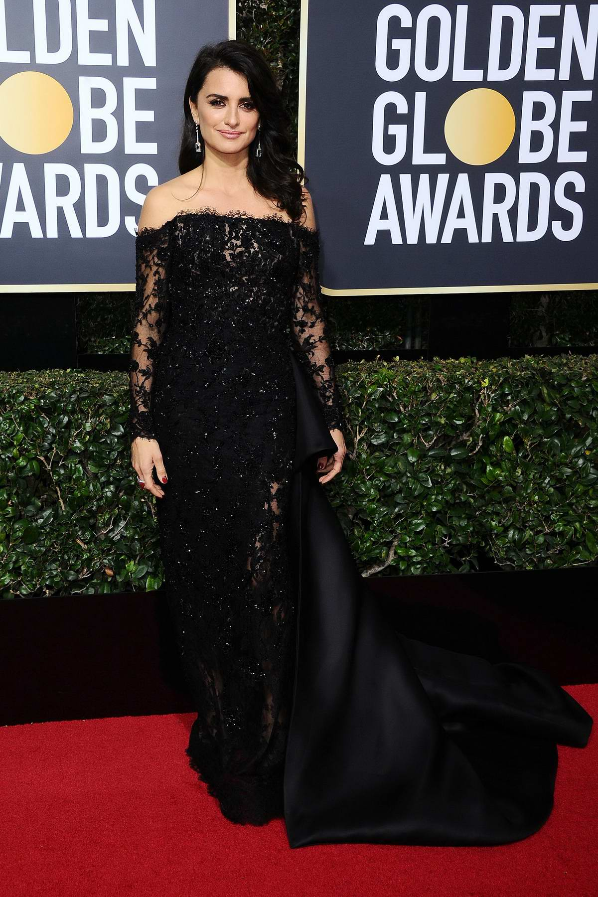 Penelope Cruz attends the 75th Annual Golden Globe Awards in Beverly Hills, Los Angeles