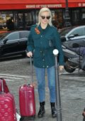 Pixie Lott arrives back to London by the Eurostar at Gare du Nord in Paris