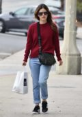 Rachel Bilson grabs some lunch to go from Joan's On Third in Studio City, Los Angeles