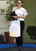 Rooney Mara goes grocery shopping and to the dry cleaners, Beverly Hills, Los Angeles