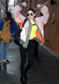 Rose McGowan visits 'The View' to talk about her new book 'Brave' in New York City