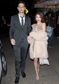 Sarah Hyland and boyfriend Wells Adam were seen leaving a private party in West Hollywood, Los Angeles