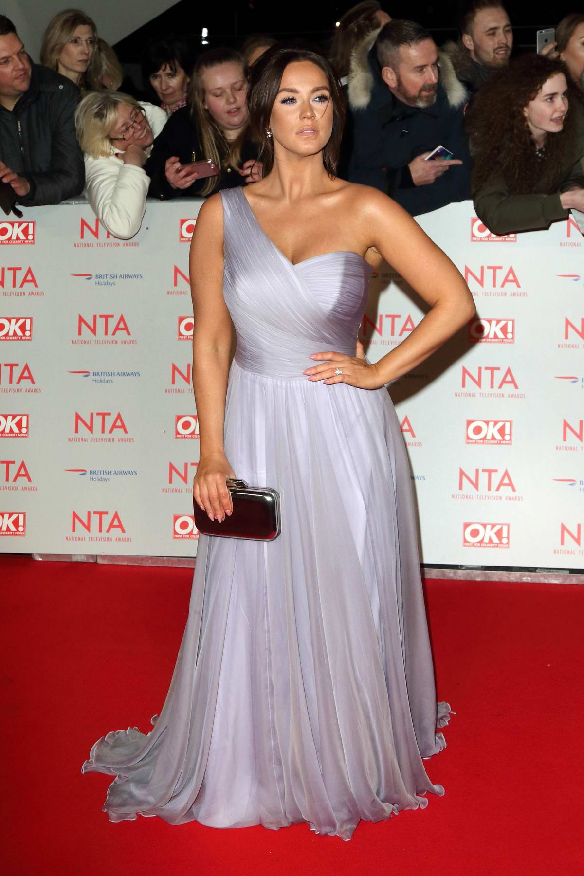 Vicky Pattison attends National Television Awards at The O2 Arena in London