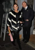 Vicky Pattison celebrates her 30th birthday party with fiance John Noble at YOLO Townhouse in Newcastle, UK