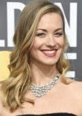 Yvonne Strahovski attends the 75th Annual Golden Globe Awards in Beverly Hills, Los Angeles