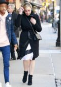 Abbie Cornish spotted out with Darrell Britt-Gibson in New York City