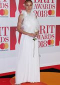 Adwoa Aboah attends the 38th Brit Awards, held at the O2 Arena in London