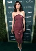 Alexandra Daddario attends CFDA Variety and WWD Runway to Red Carpet in Los Angeles