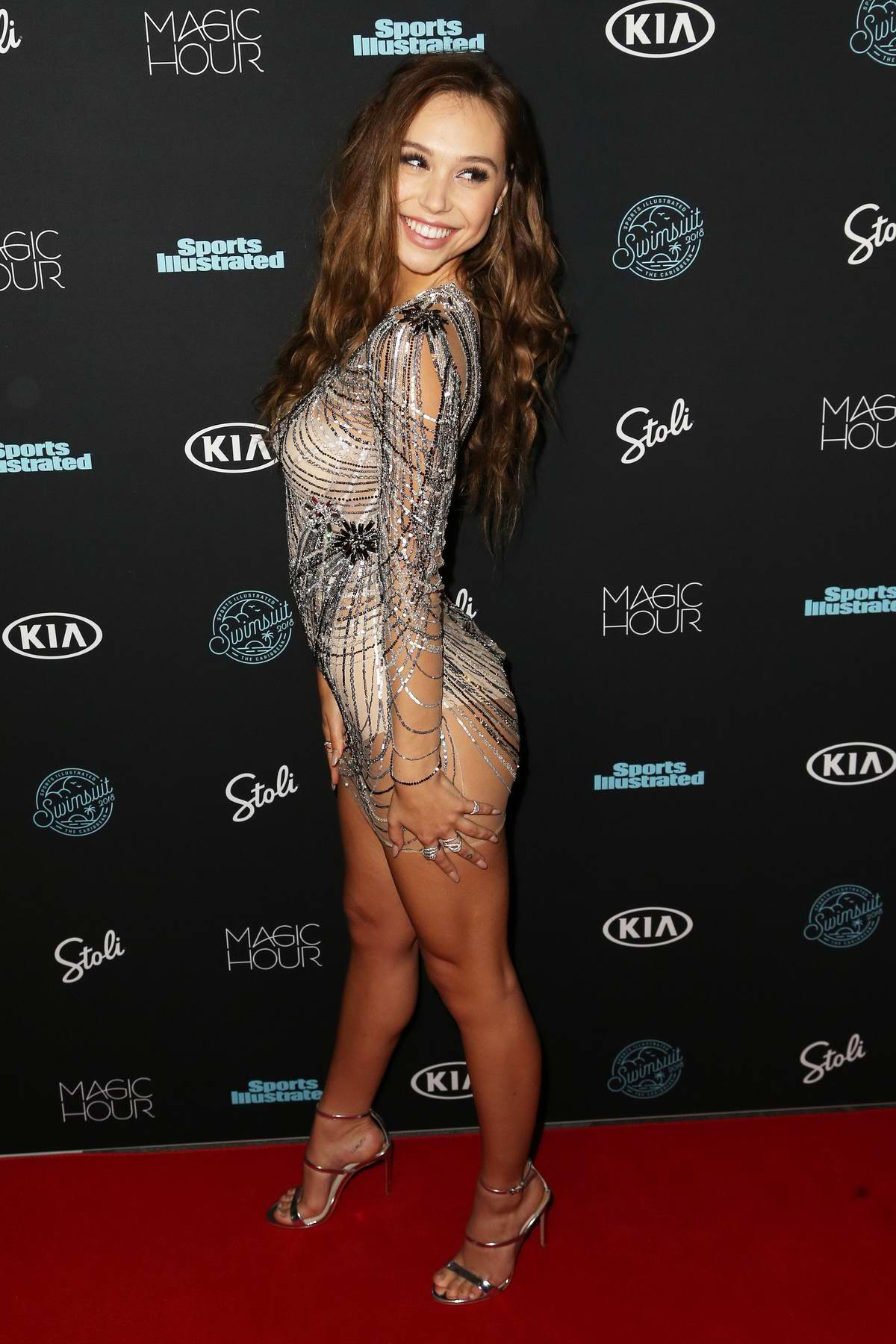 Alexis Ren attends Sports Illustrated Swimsuit 2018 Launch Event in New York City