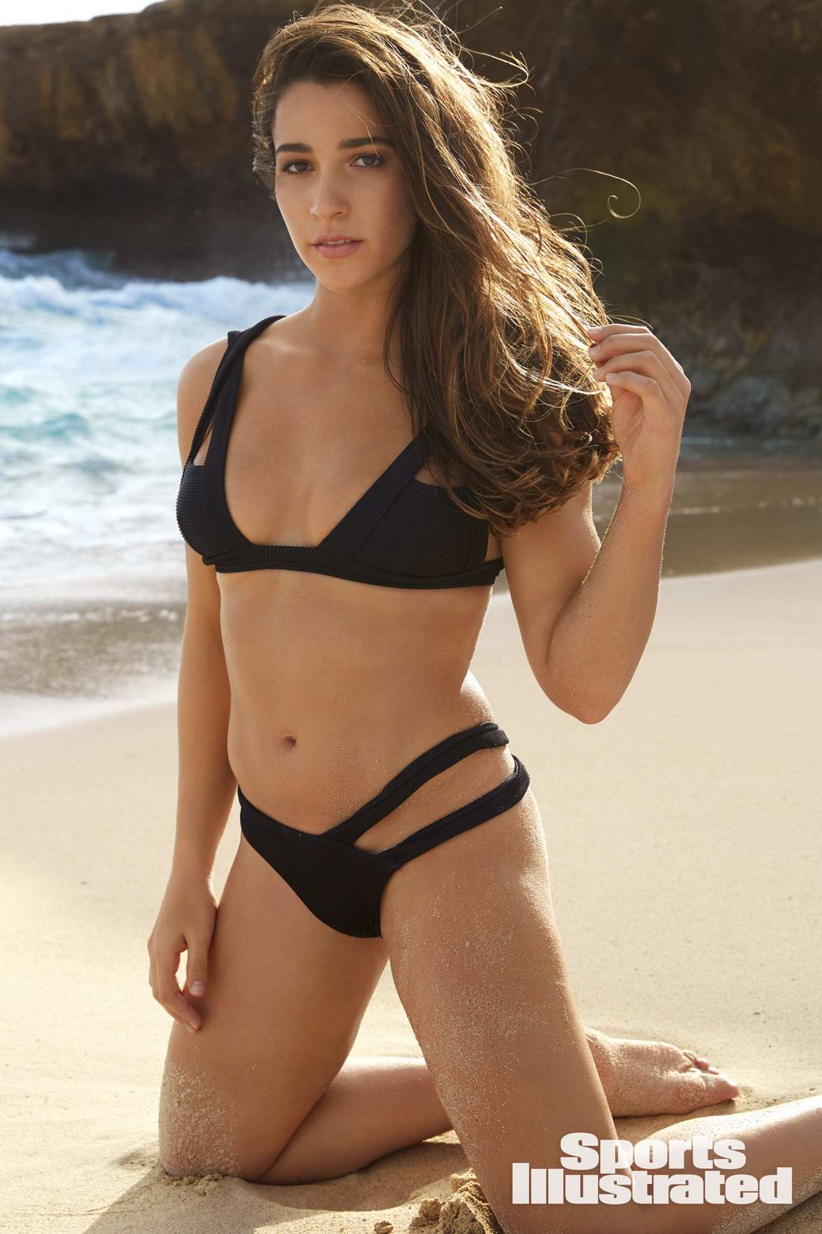 Aly Raisman in Sports Illustrated Swimsuit Issue 2018