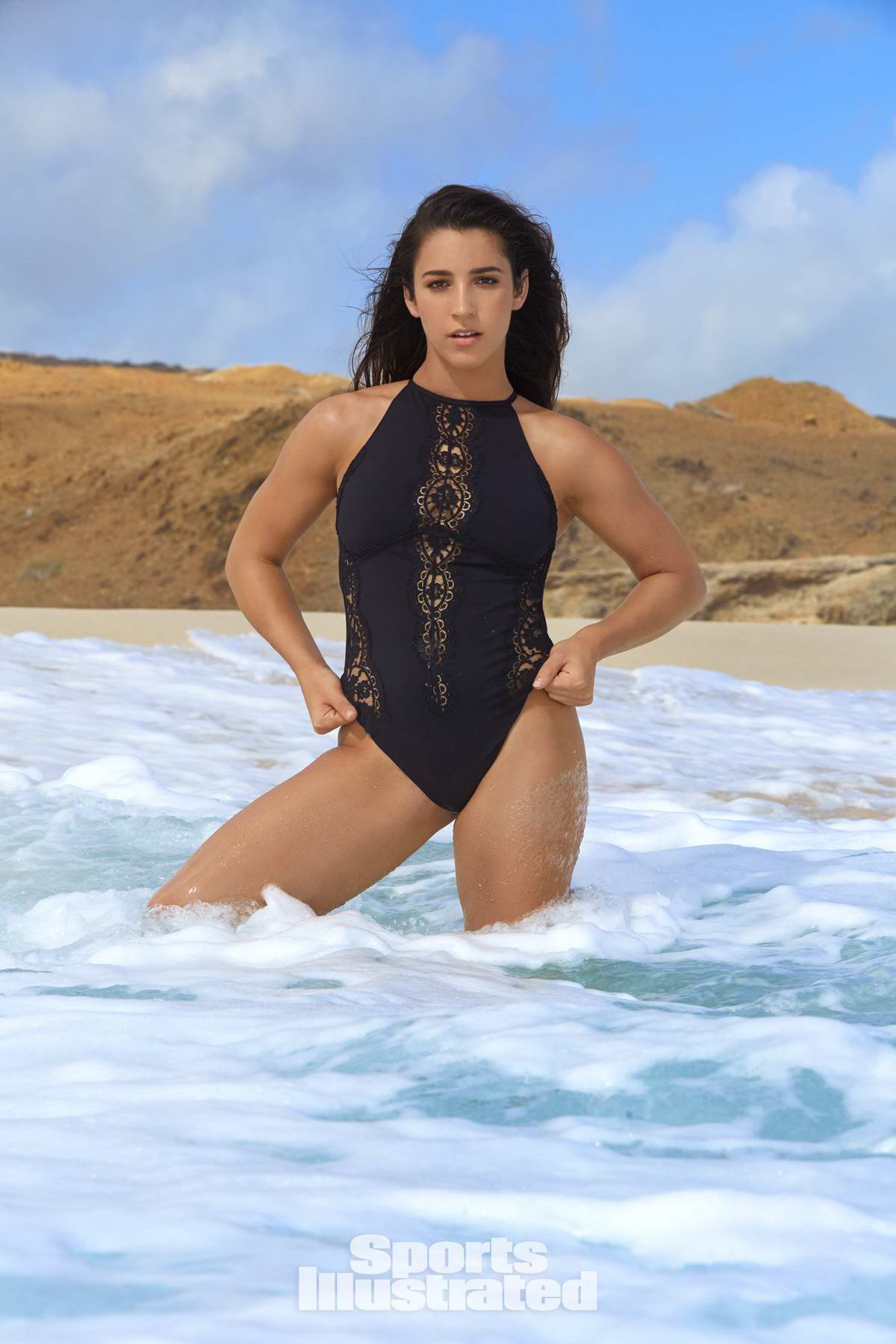Aly Raisman In Sports Illustrated Swimsuit Issue 2018 3