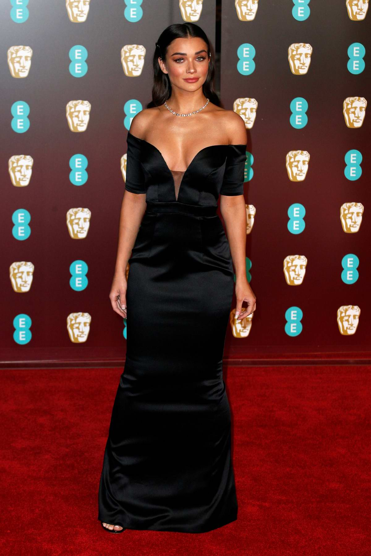 Amy Jackson attends 71st British Academy Film Awards at Royal Albert Hall in London