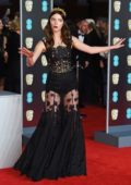 Anna Taylor-Joy attends 71st British Academy Film Awards at Royal Albert Hall in London