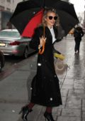 AnnaLynne McCord spotted as she leaves 'Good Day New York' in New York City