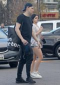 Ariel Winter shops at Urban Outfitter with boyfriend Levi Meaden in Studio City, Los Angeles