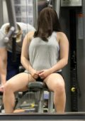 Ariel Winter working out with Mackfit at a gym in Beverly Hills, Los Angeles