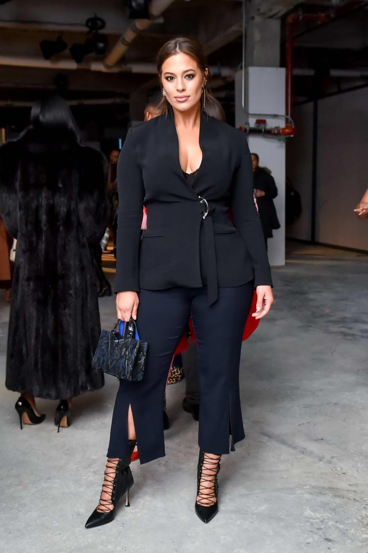 Ashley Graham attends Cushnie Et Ochs Show during New York Fashion Week in New York City