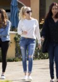 Ava Sambora spotted leaving Mamalade Cafe with friends in Calabasas, California