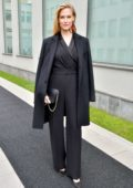 Bar Refaeli attends Giorgio Armani Show, Fall Winter 2018 during Milan Fashion Week in Milan, Italy