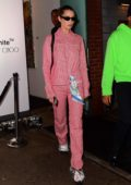 Bella Hadid at Off White c/o Jimmy Choo Dinner during New York Fashion Week in New York City
