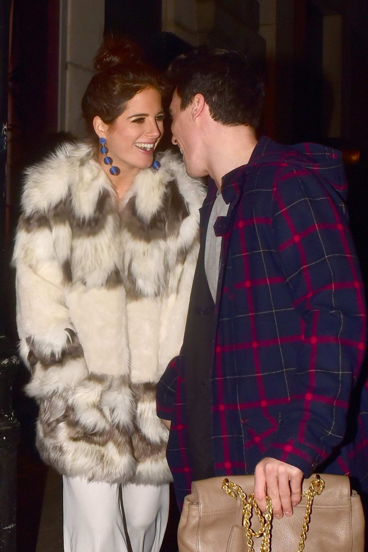 Binky Felstead at the In The Style Totes Over It Valentine's Party held at Libertine Club in London