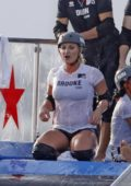 Brooke Hogan spotted on set of 'Champs Vs Stars' in Los Angeles