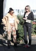 Chantel Jeffries grabs lunch with Alissa Violet at Taste in West Hollywood, Los Angeles