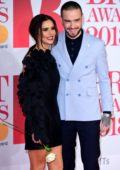 Cheryl and Liam Payne attends the 38th Brit Awards, held at the O2 Arena in London