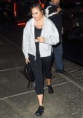 Chrissy Teigen and John Legend get dinner at Dean & Deluca in Soho, New York City