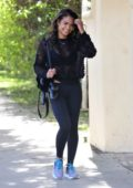 Christina Milian leaving the gym in Los Angeles