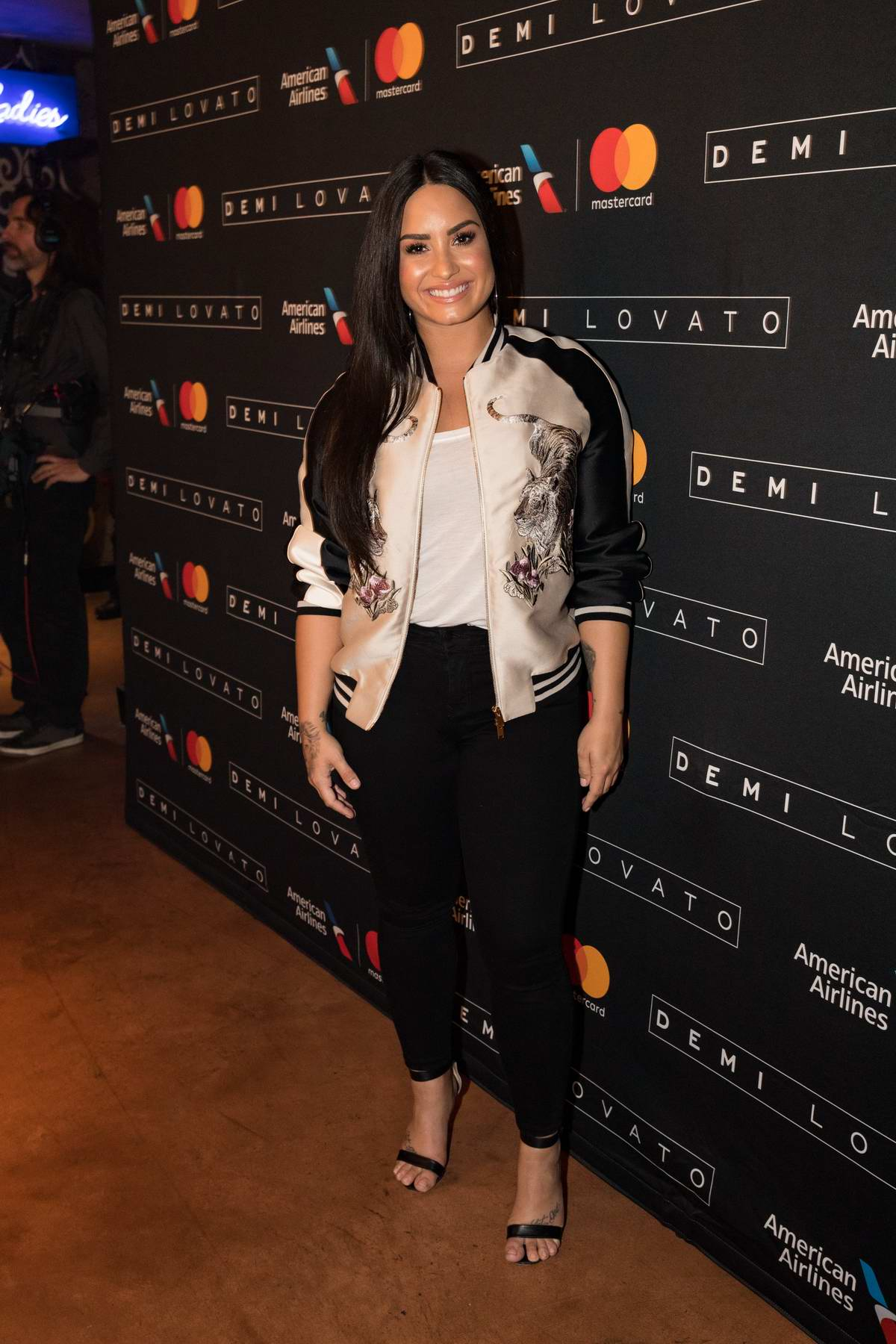 Demi Lovato Performs exclusively for American Airlines AAdvantage Mastercard card members at House of Blues in Dallas, Texas