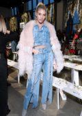 Devon Windsor at Jonathan Simkhai Show during New York Fashion Week in New York City