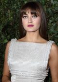 Ella Purnell at Charles Finch & Chanel Pre-BAFTA Dinner at Mark's Club in London