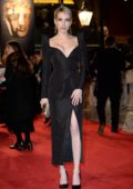 Emma Roberts attends 71st British Academy Film Awards at Royal Albert Hall in London