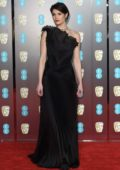 Gemma Arterton attends 71st British Academy Film Awards at Royal Albert Hall in London
