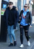 Gemma Atkinson and Gorka Marquez spotted out in Nottingham, UK