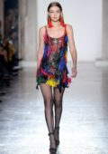 Gigi Hadid walks the runway for Versace Show, Fall Winter 2018, during Milan Fashion Week in Milan, Italy