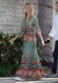 Gwyneth Paltrow spotted out in a colorful patterned sundress in Los Angeles