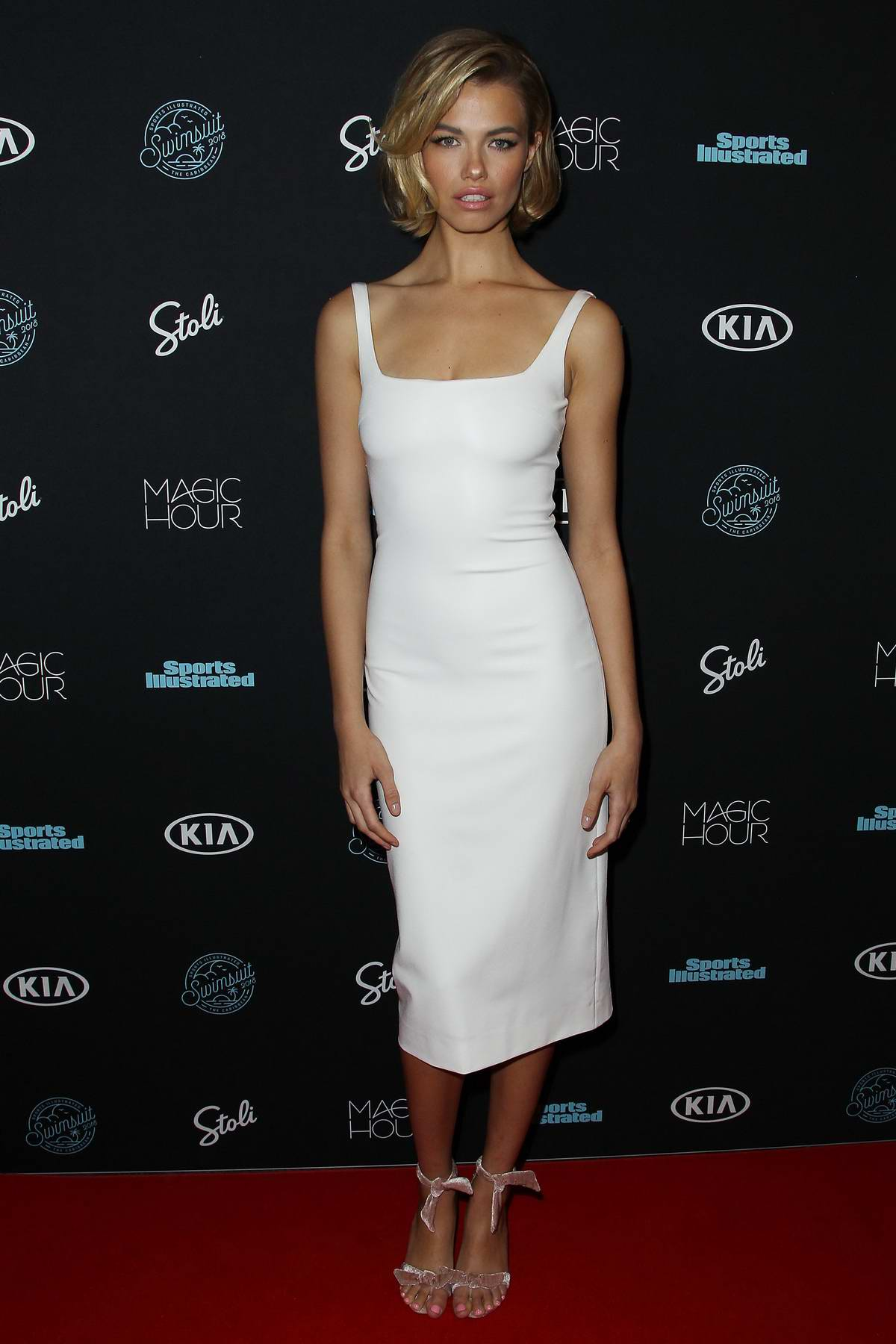 Hailey Clauson attends Sports Illustrated Swimsuit 2018 Launch Event in New York City