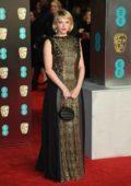 Haley Bennett attends 71st British Academy Film Awards at Royal Albert Hall in London